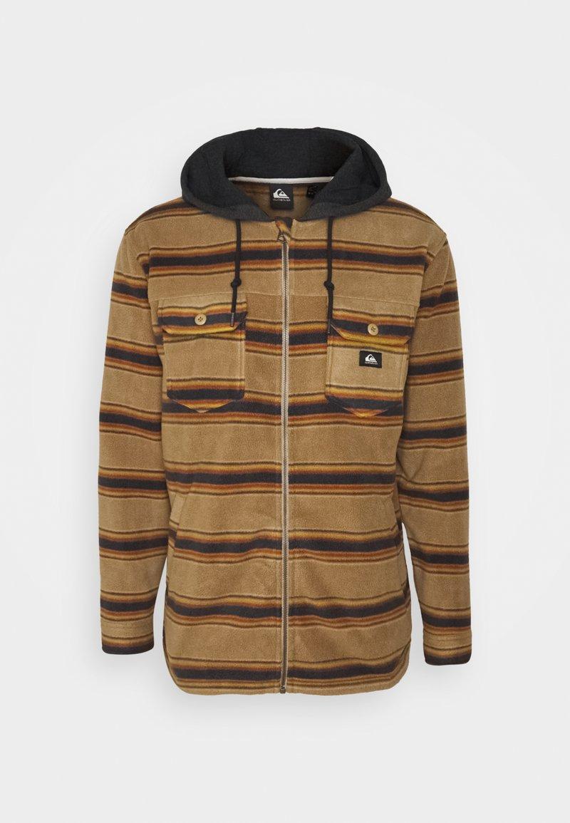 Quiksilver - SUPER SWELL - Fleece jacket - brown