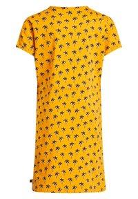 WE Fashion - MET PALMBOOMDESSIN - Day dress - ochre yellow - 4