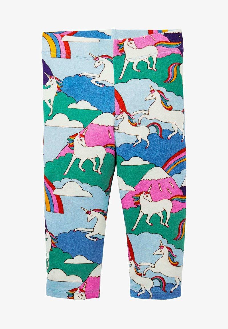 Boden - FRÖHLICHE - Leggings - Trousers - bunt, berge mit einhörnern
