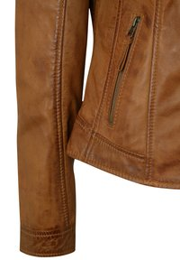 7eleven - Leather jacket - cognac - 4