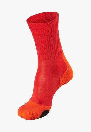 Socks - dark red
