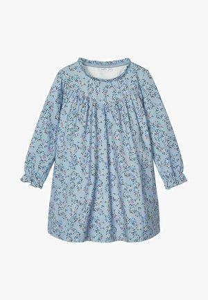 Day dress - dusty blue
