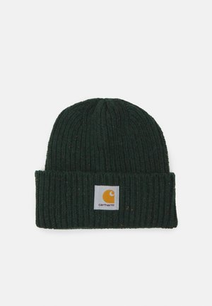 ANGLISTIC BEANIE UNISEX - Adīta cepure - speckled grove