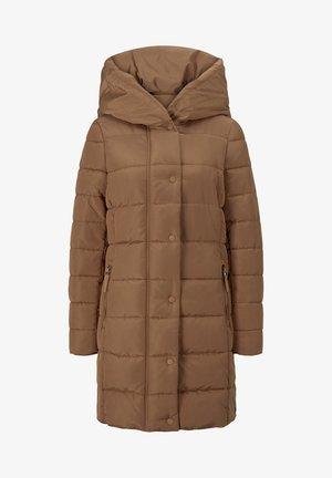 MIT BREITEM KRAGEN - Winter coat - light chestnut