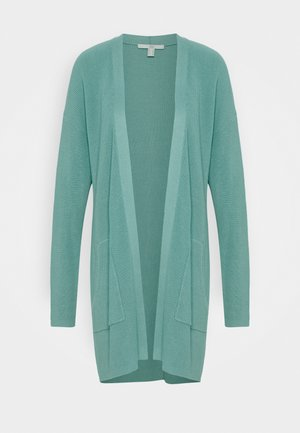Cardigan - dusty green