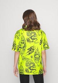 NEW girl ORDER - SKULL DRAGON - Blouse - green - 2