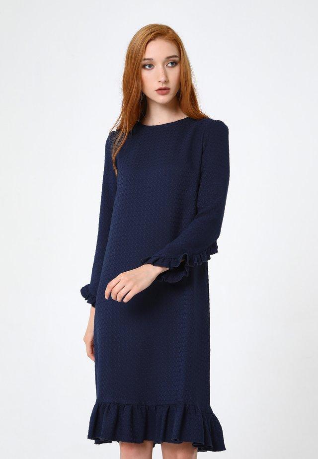 Robe en jersey - blau