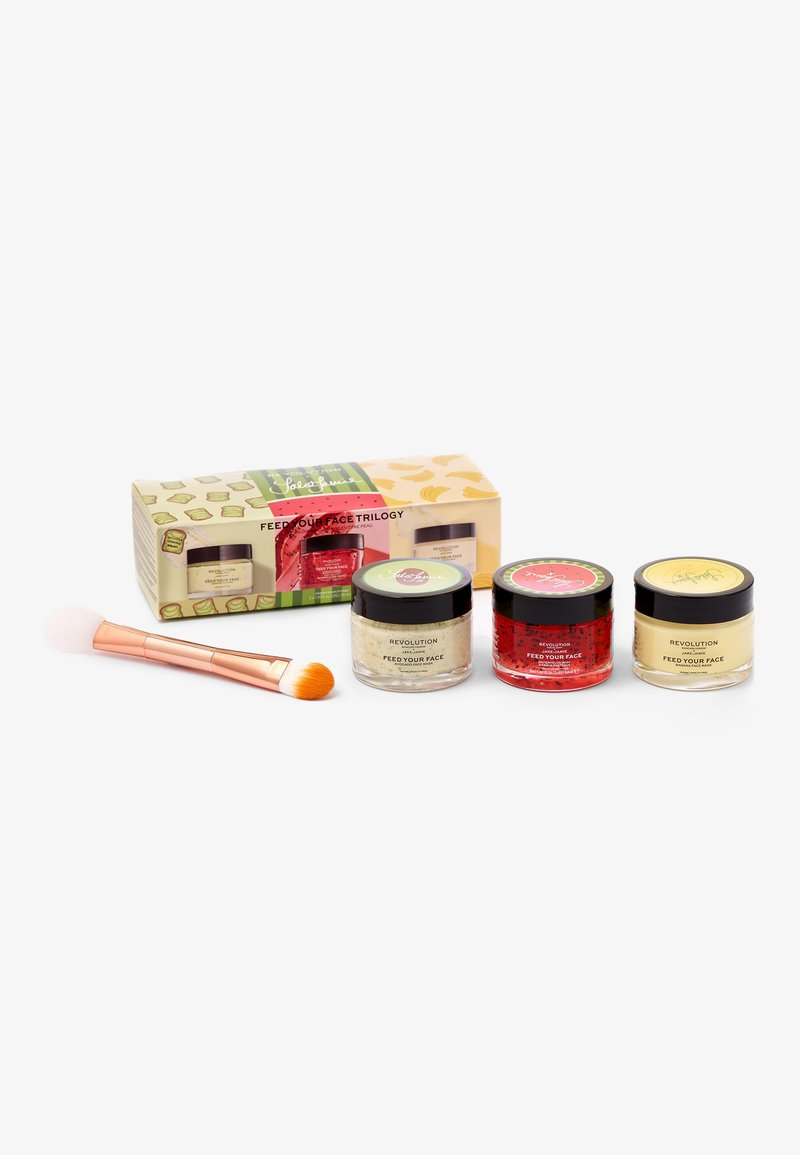 Revolution Skincare - REVOLUTION SKINCARE JAKE-JAMIE FEED YOUR FACE TRILOGY - Skincare set - -