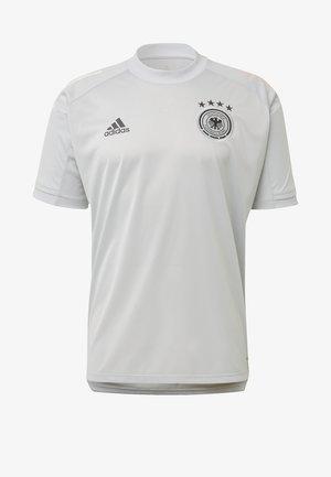 DEUTSCHLAND DFB TRAINING SHIRT - T-shirt con stampa - clear grey