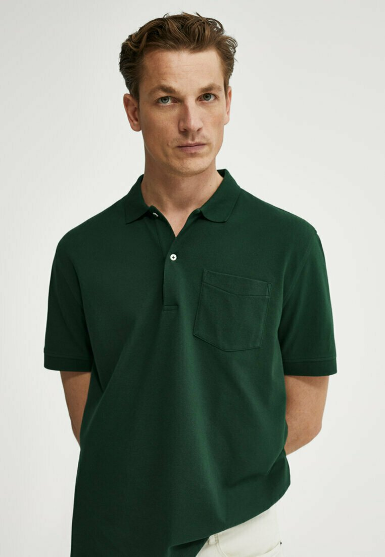 Massimo Dutti - Polo shirt - evergreen