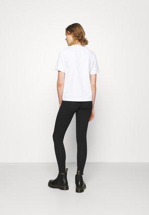 BASIC HI RISE - Leggings - Trousers - true black