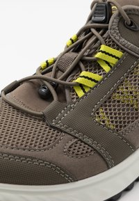 ECCO - EXOSTRIDE  - Hiking shoes - warm grey/sulphur - 5