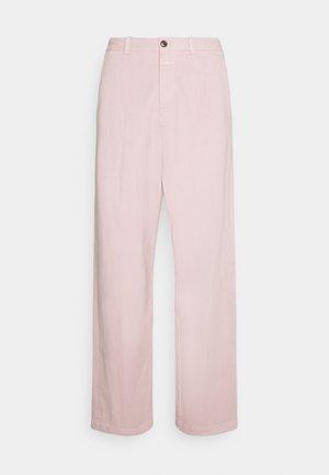 LIVINGTON WIDE - Trousers - icy verbena