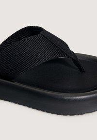 OYSHO - T-bar sandals - black - 5