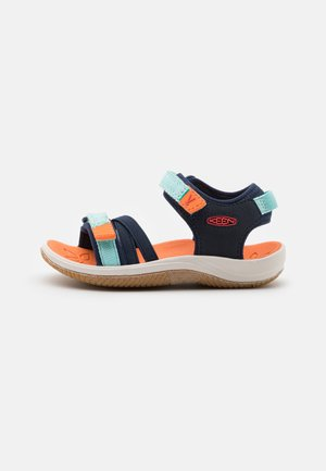 VERANO UNISEX - Walking sandals - black iris/blue tint