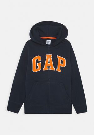 BOYS ACTIVE ARCH HOOD - veste en sweat zippée - brilliant blue