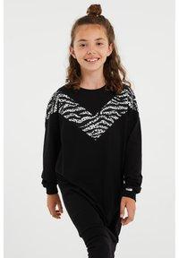 WE Fashion - Jumper dress - black - 1