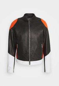KABAN - Leather jacket - mix colors
