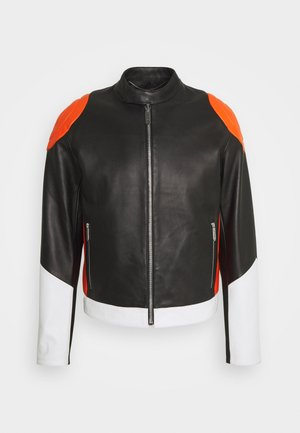 KABAN - Leather jacket - mix colors