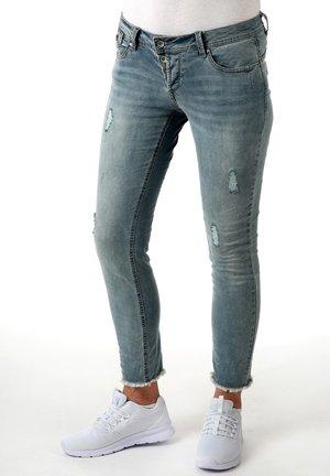 MALIBU - Slim fit jeans - light blue denim