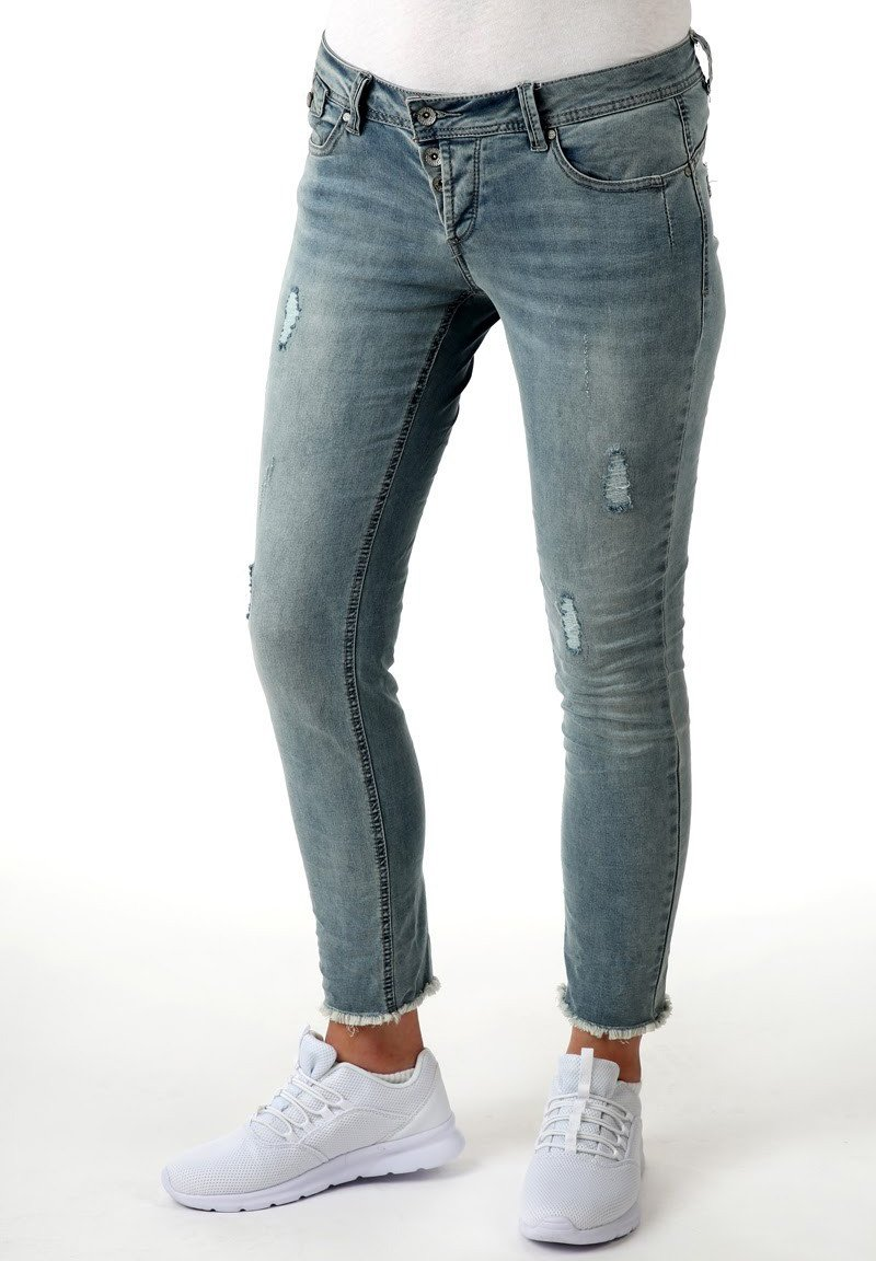 Buena Vista - MALIBU - Slim fit jeans - light blue denim