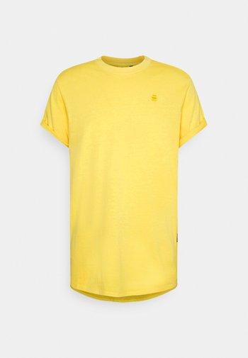 LASH  - Basic T-shirt - yellow
