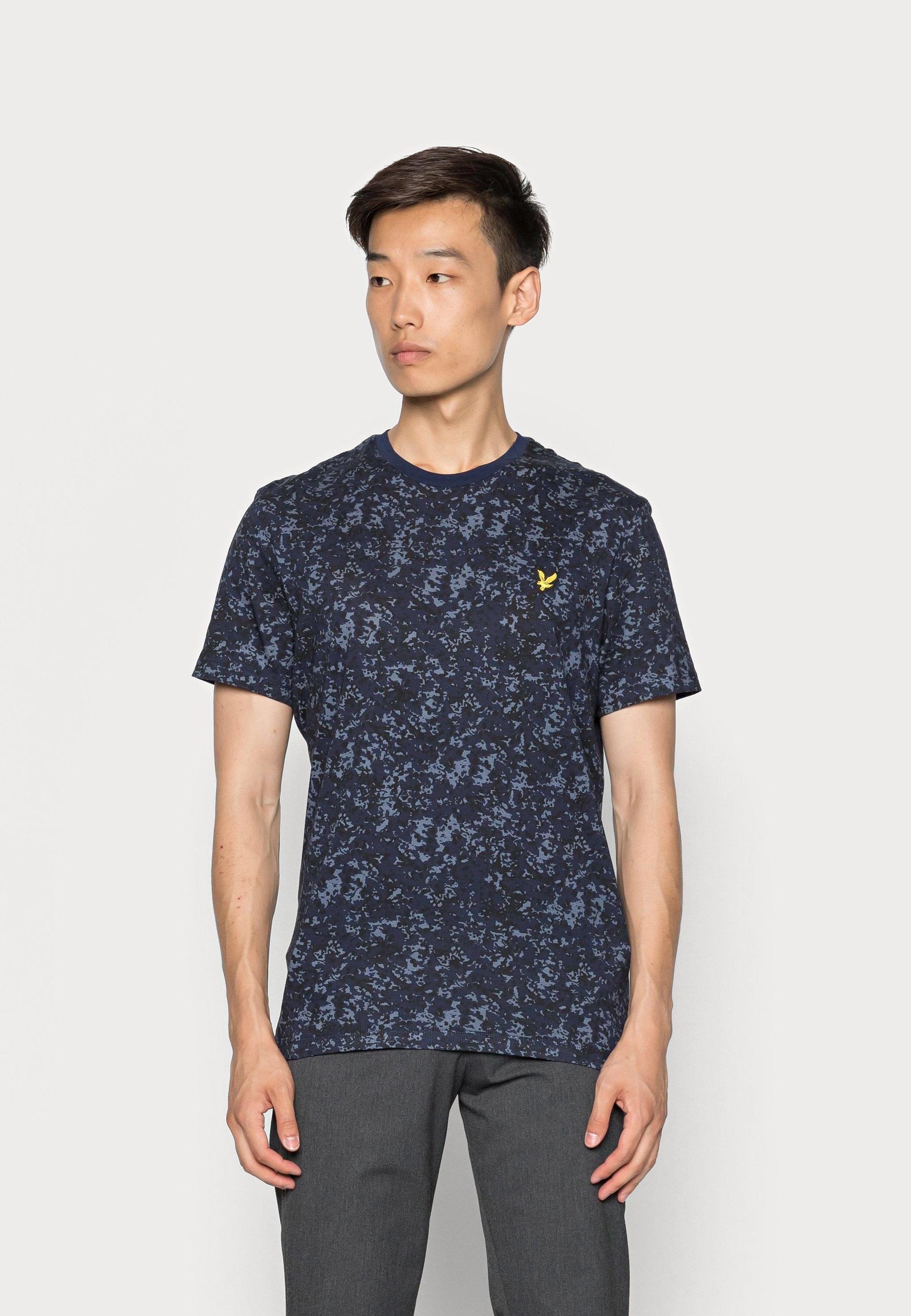 Men EARTH PRINT - Print T-shirt