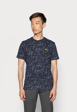 EARTH PRINT - Print T-shirt - dark navy