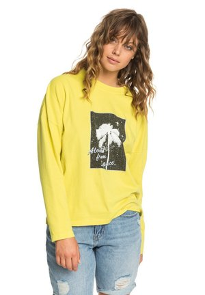 BOXY - Long sleeved top - buttercup