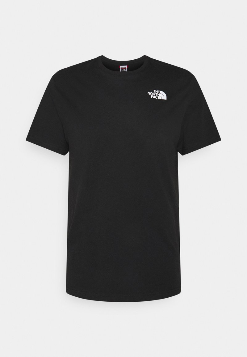 The North Face - MULTI BOX TEE - T-shirt med print - black