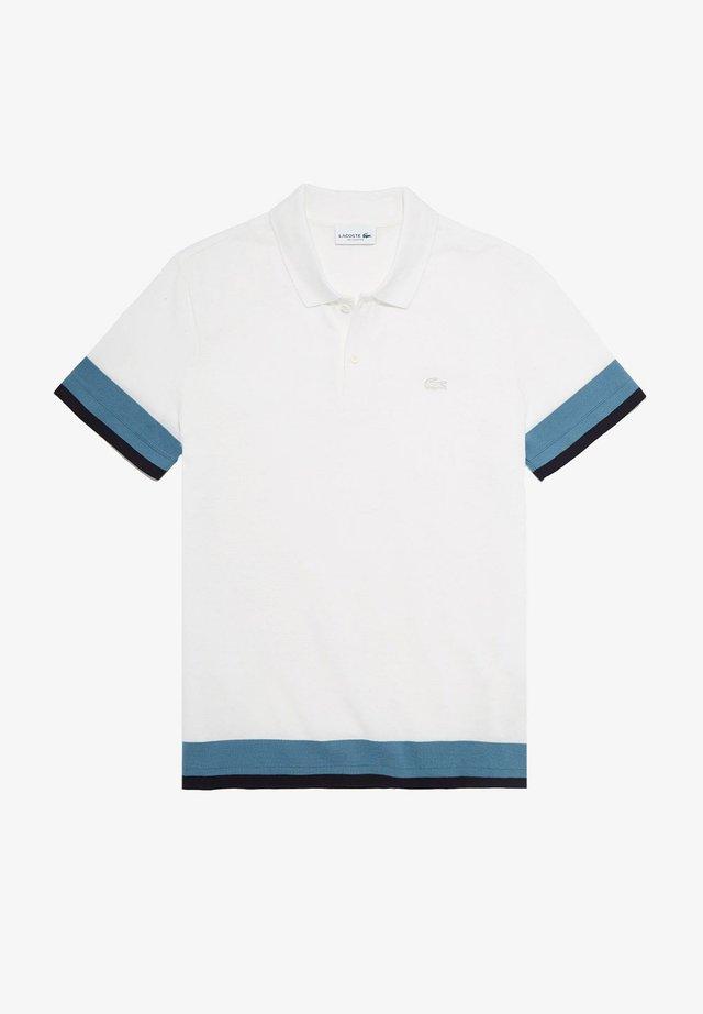 PH1843 - Polo - weiß / blau / navy blau