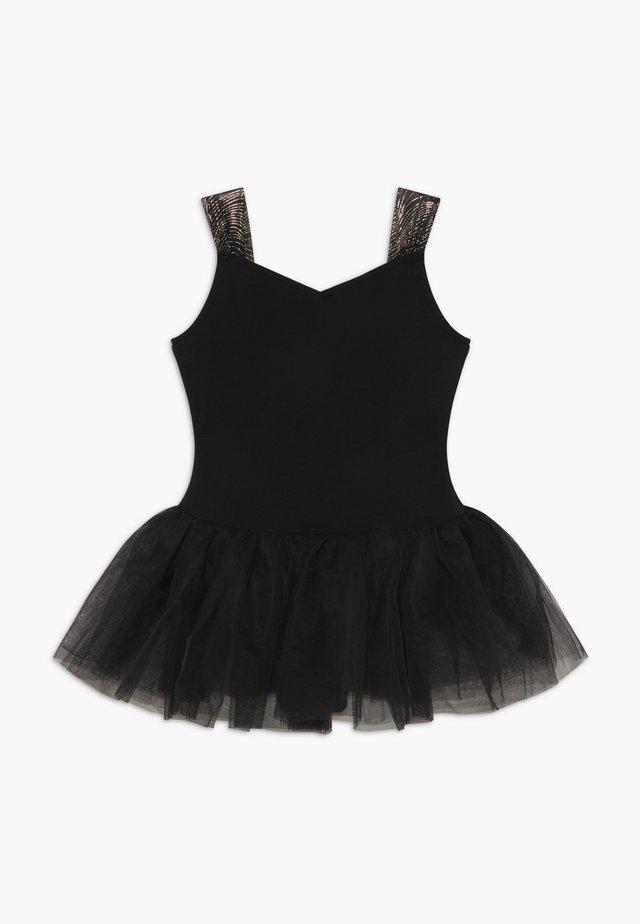 GIRLS' BALLET CAMISOLE - Sports dress - black