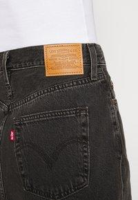 Levi's® - RIBCAGE SKIRT - Spódnica mini - washed noir black - 5