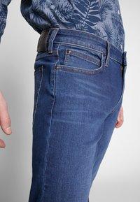 Lee - MALONE - Jeans slim fit - dark ely - 4