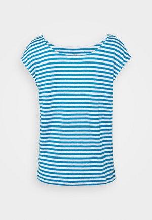 TEE - Print T-shirt - mykonos/marshmallow