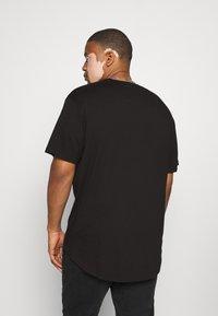Only & Sons - ONSMATT LONGY TEE 2 PACK  - T-shirt basic - black - 2