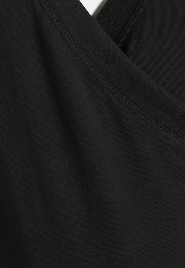 GAP Maternity NURSING CROSSOVER - Bluzka z długim rękawem - true black/czarny BQZY