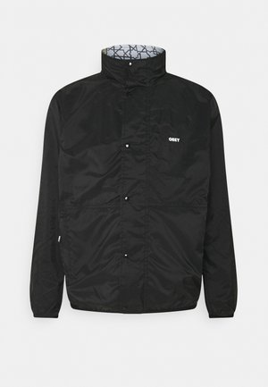 PATCHWORK REVERSIBLE JACKET - Summer jacket - black/navy