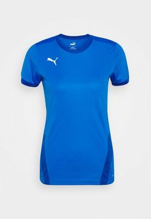 TEAM GOAL  - Sports shirt - electric blue lemonade/power blue