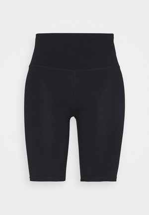 HIGHWAISTED MID LENGTH BIKE SHORT - Trikoot - core black