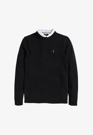 OXFORD MOCK - Jumper - black