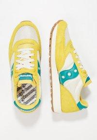 Saucony - JAZZ ORIGINAL VINTAGE - Sneaker low - mustard/tan/teal - 1