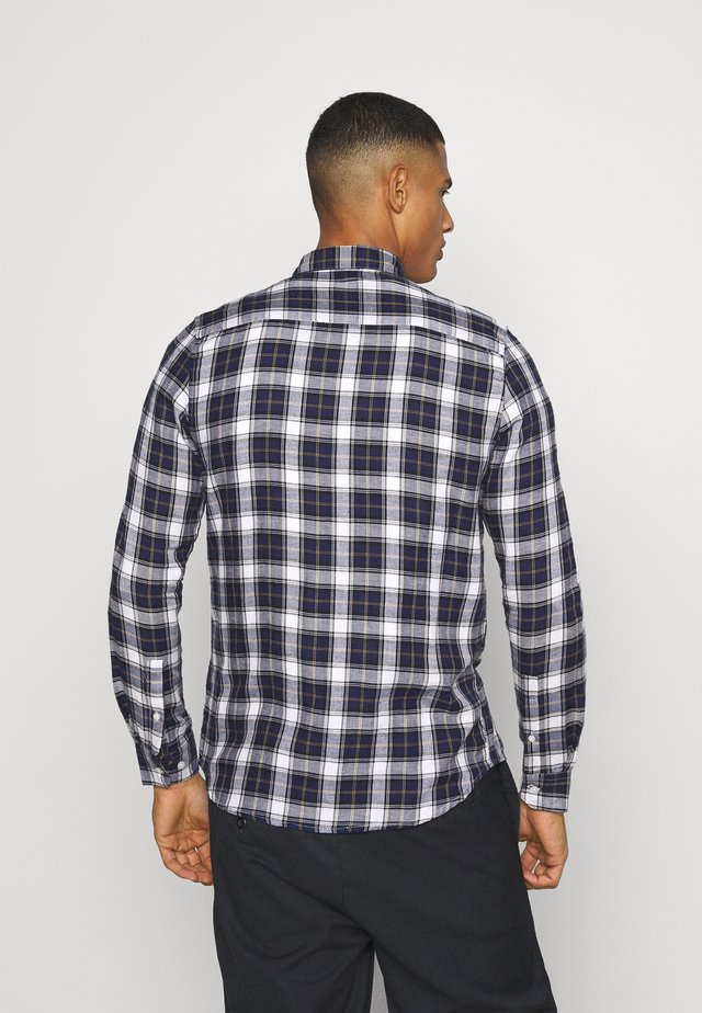 LONG SLEEVE CHECK - Skjorte - navy