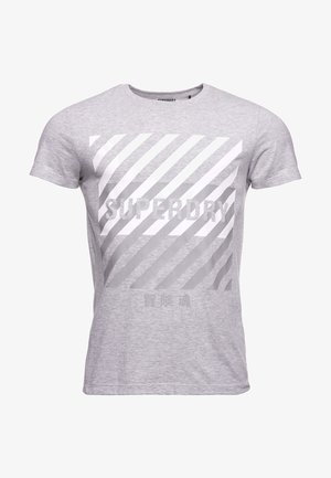 TRAINING CORESPORT GRAPHIC - Camiseta estampada - grey marl