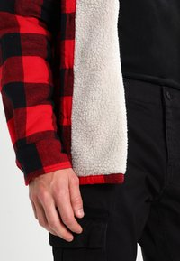 Dickies - LANSDALE SHERPA LINED  - Shirt - red - 4
