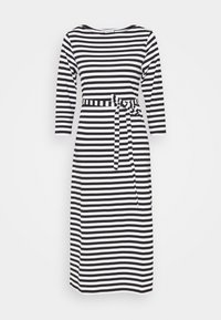 Marimekko - ILMA DRESS - Žerzejové šaty - black/white - 0