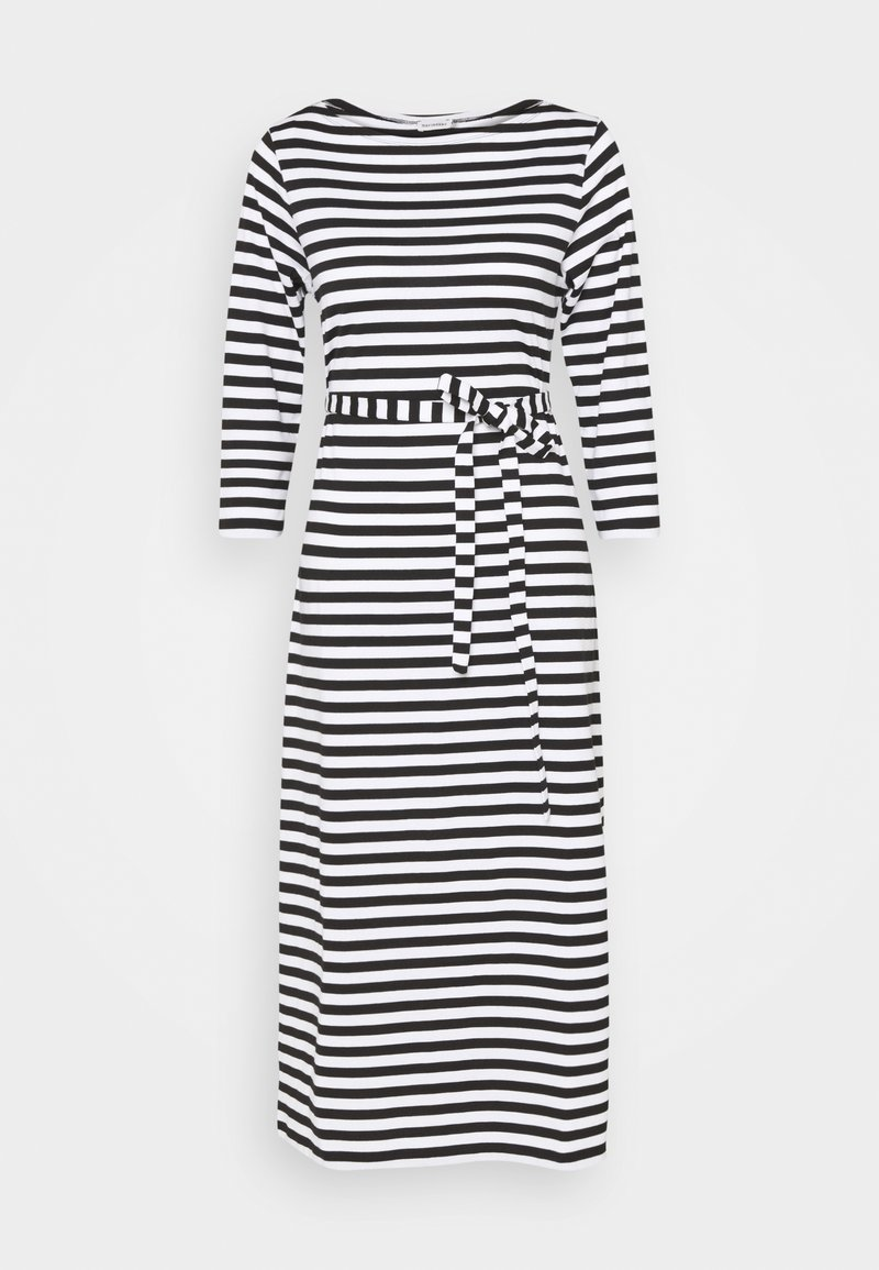 Marimekko - ILMA DRESS - Žerzejové šaty - black/white
