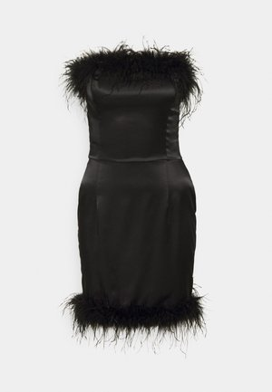CINDY DRESS - Nightie - black caviar