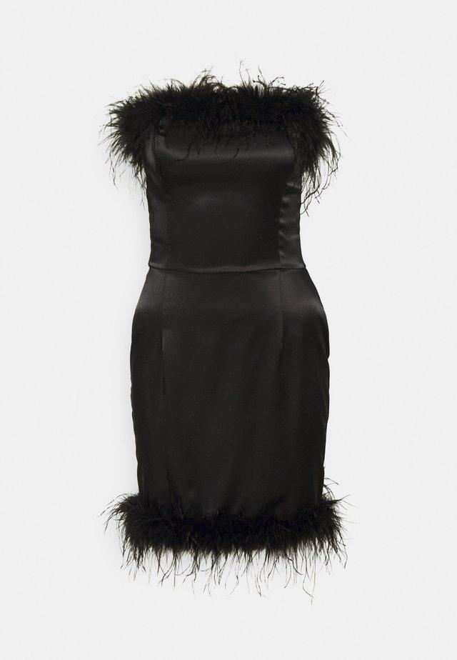 CINDY DRESS - Negligé - black caviar