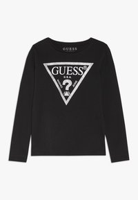Guess - TODDLER CORE - Bluzka z długim rękawem - jet black/frost - 0